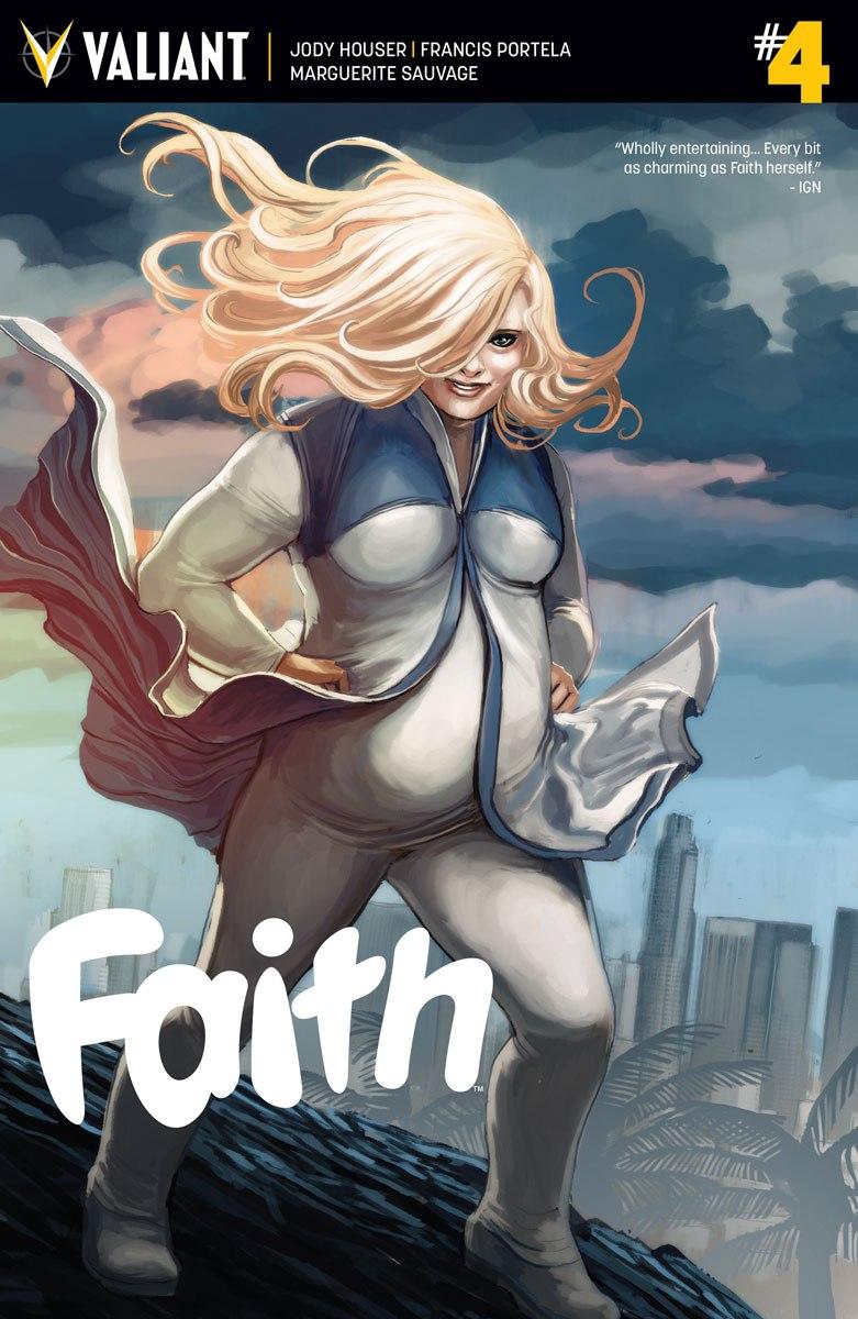 Faith #4 by Jody Houser