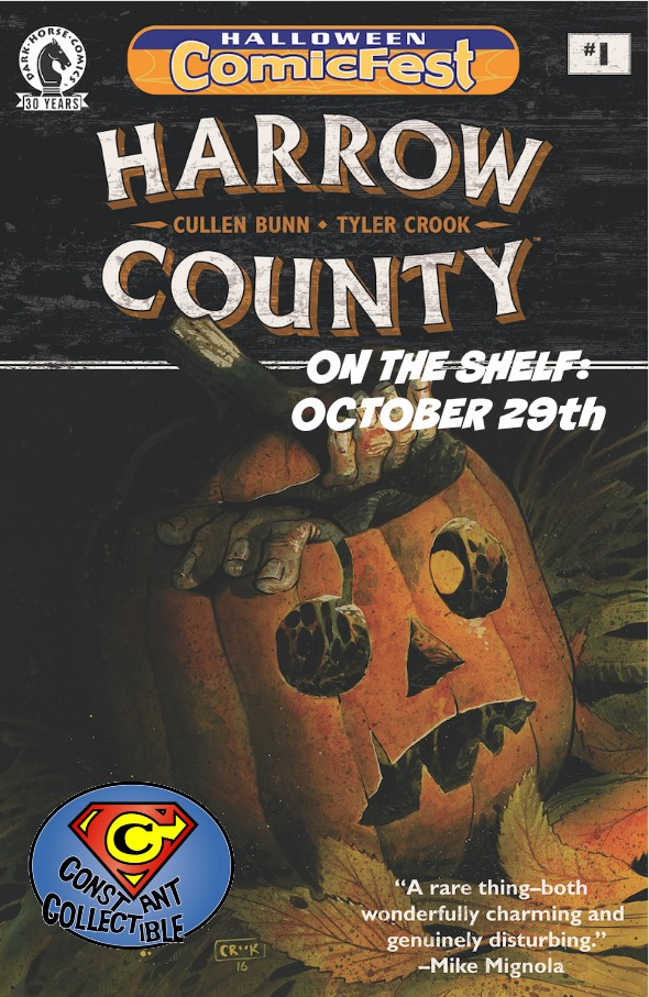 Harrow County Halloween Comicfest