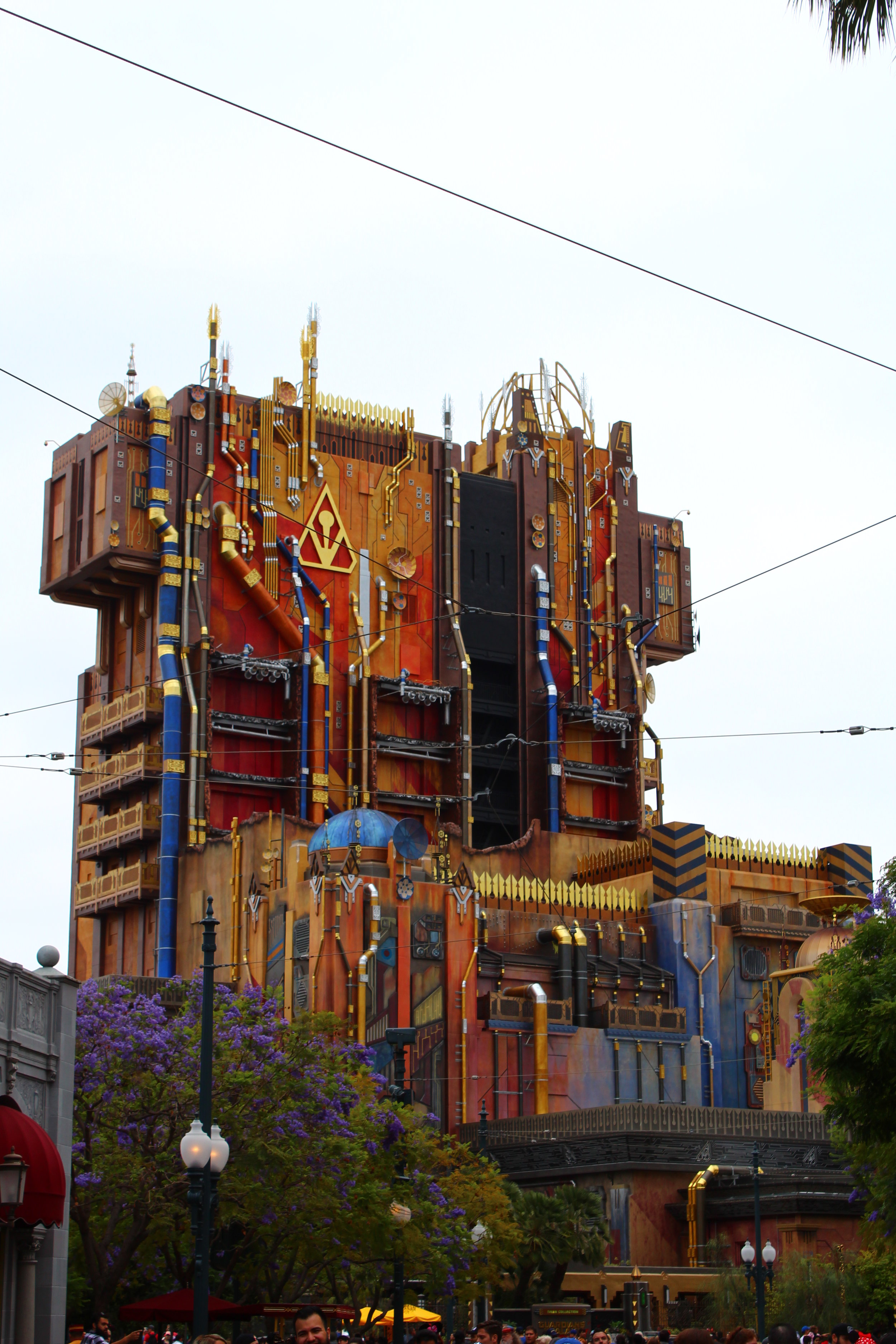 Guardians of the Galaxy Ride Exterior