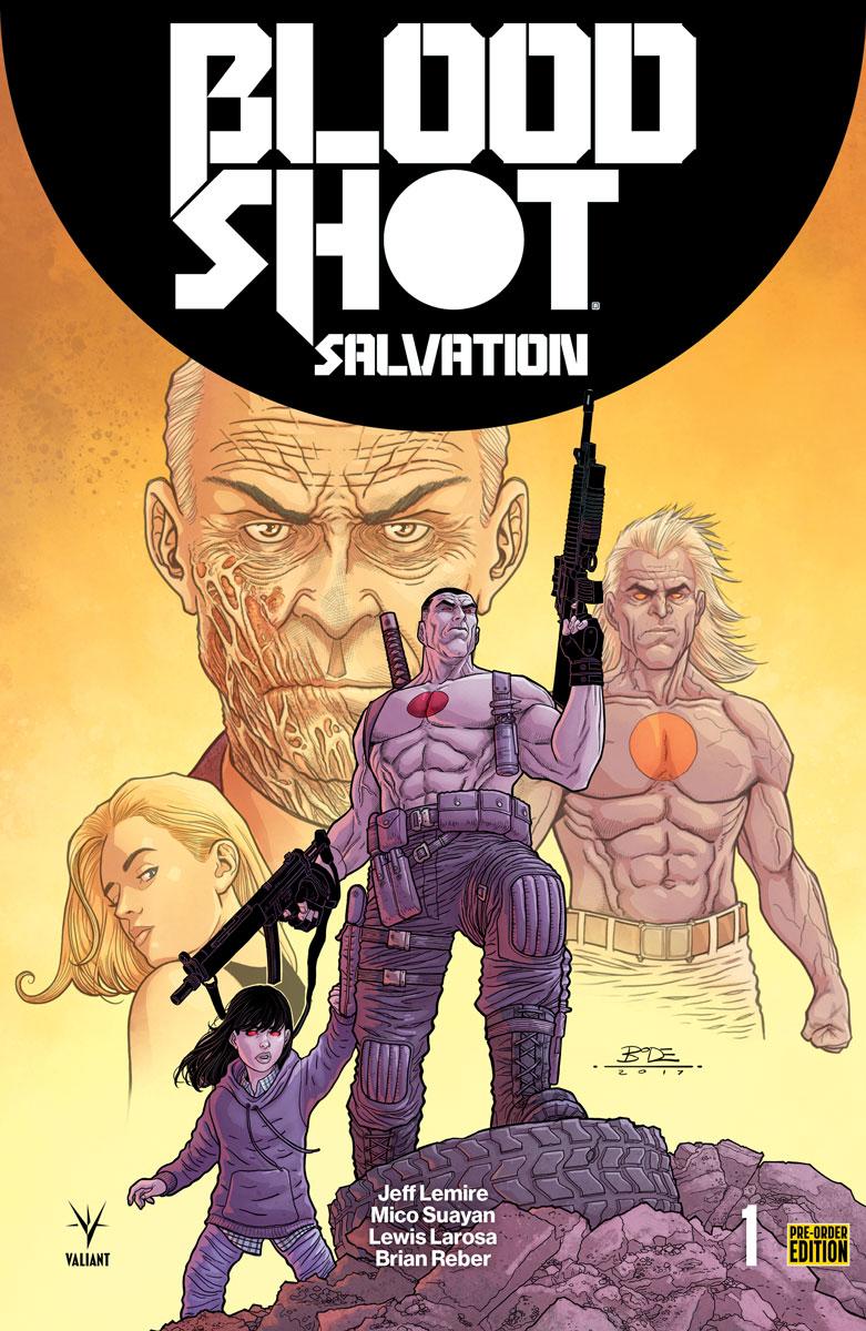 Blood Shot Salvation #1