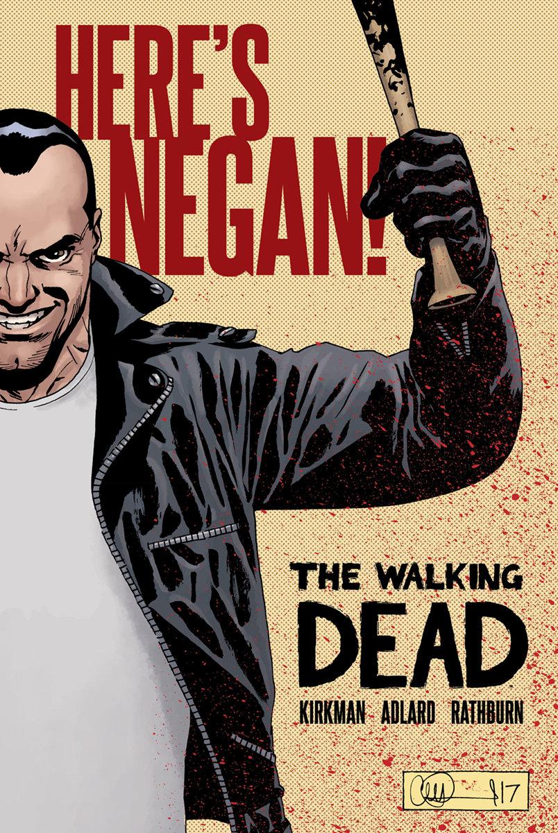 Here's Negan The Walking Dead
