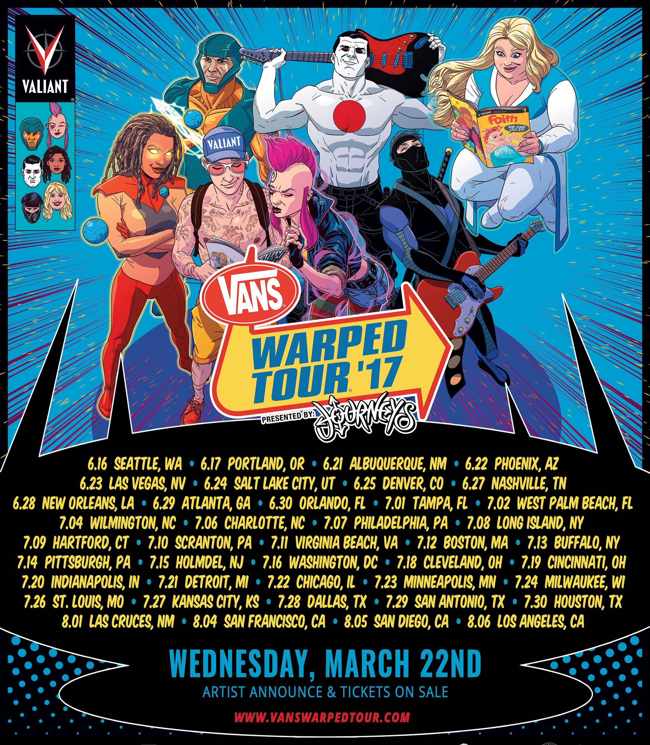 Vans Warped Tour 17