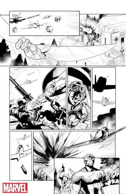 Captain America & Captain Falcon