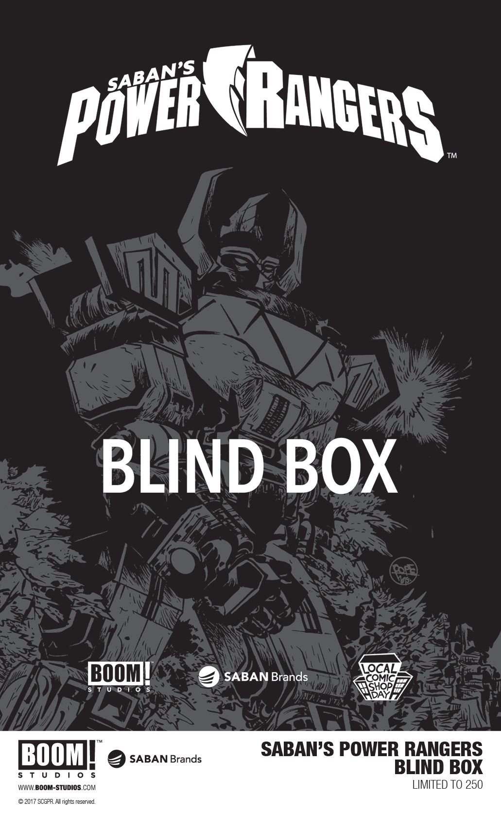 Power Ranger Blind Box