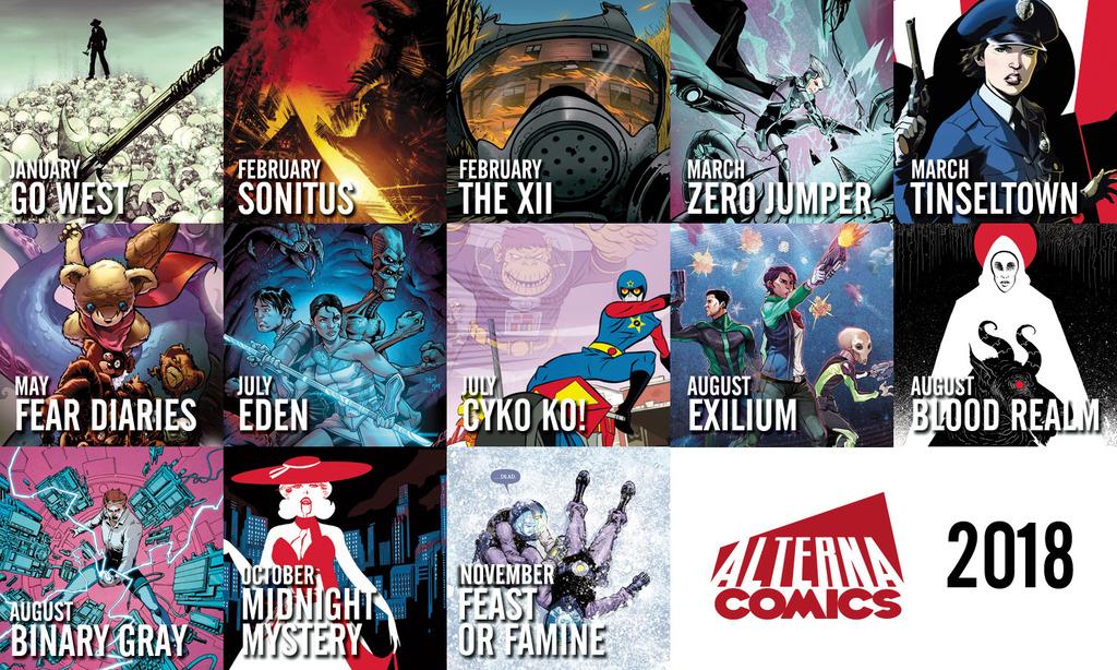 Alterna Comics 2018