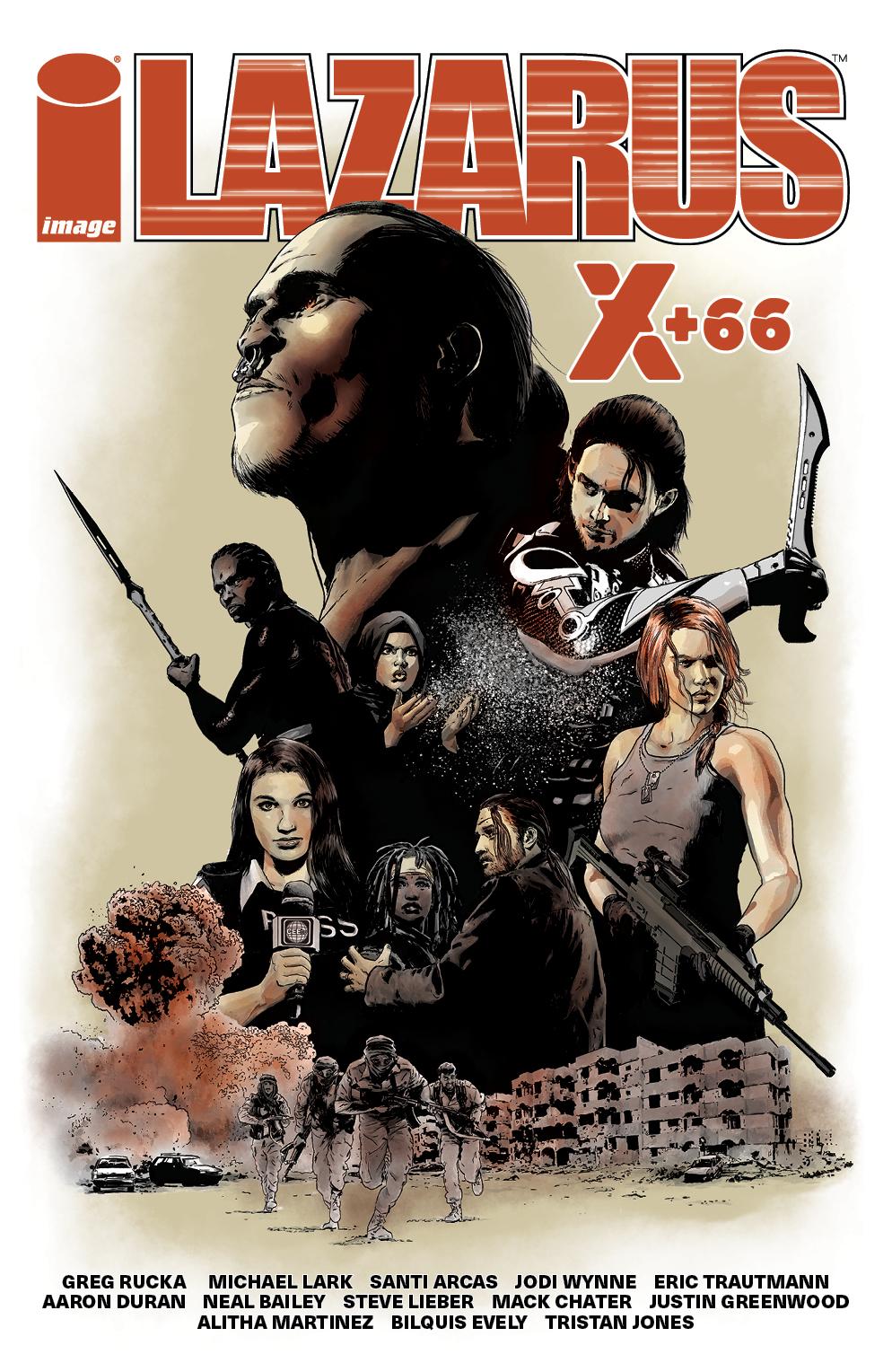 Lazarus X+66 Vol. 1 TPB