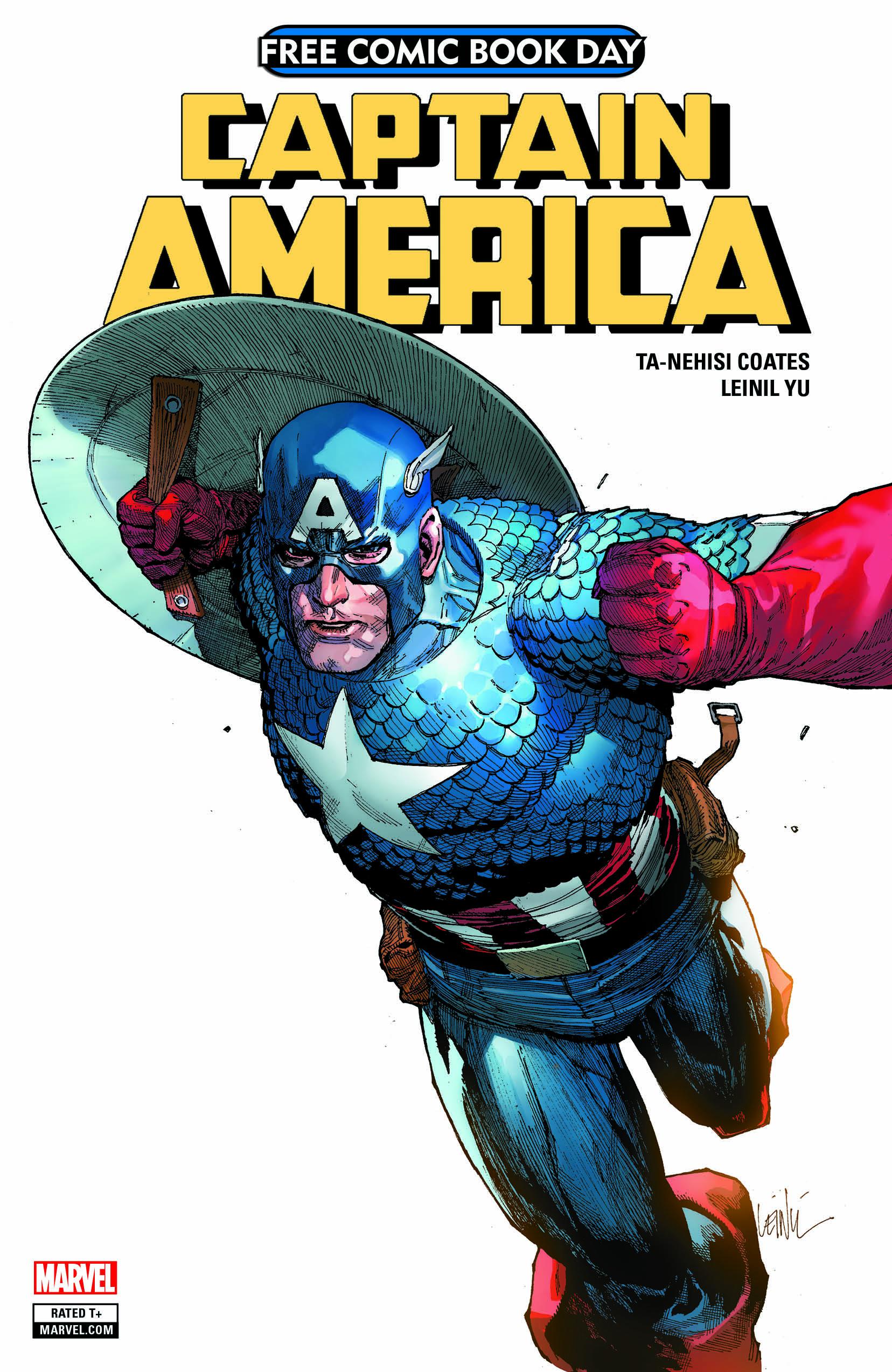 Captain America FCBD 2018