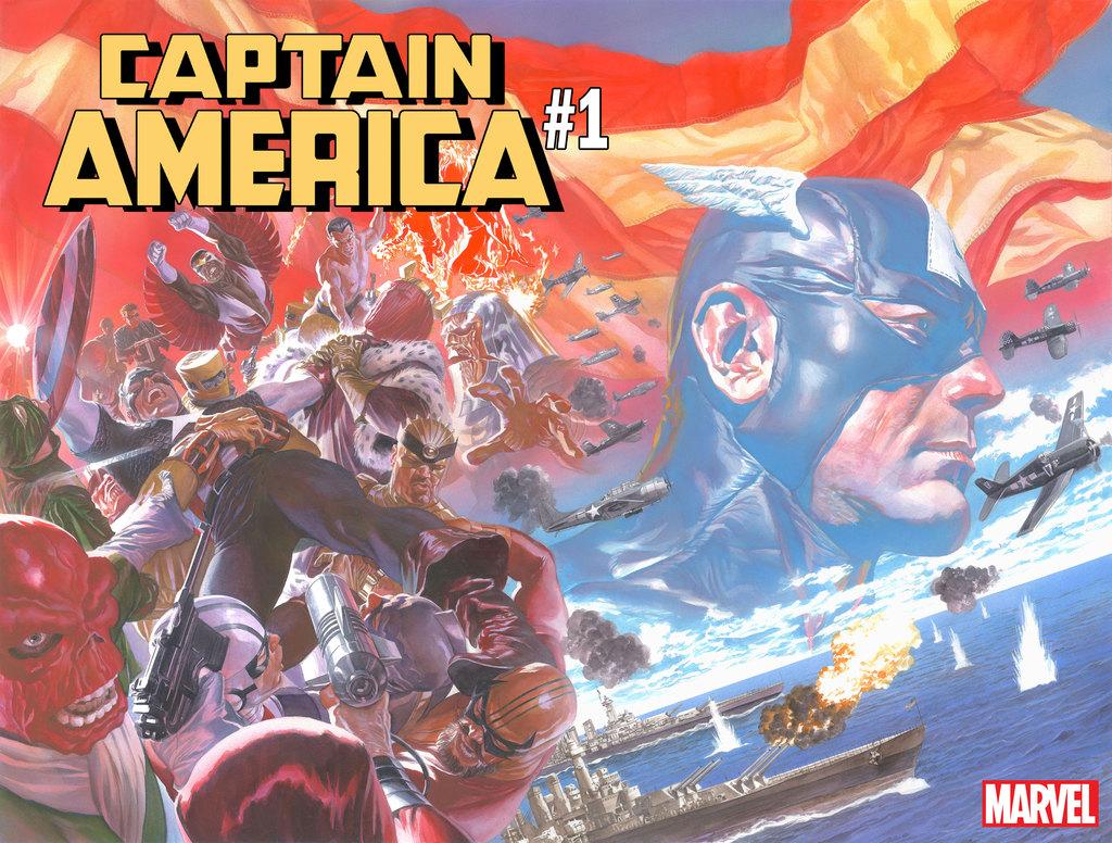 Captain America #1 2018