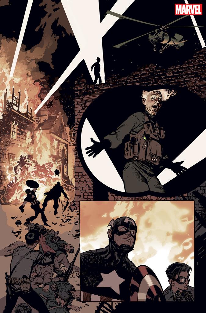 Captain America #701 - Adam Hughes