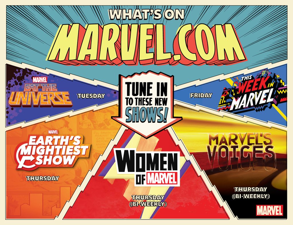 Whats On Marvel.com