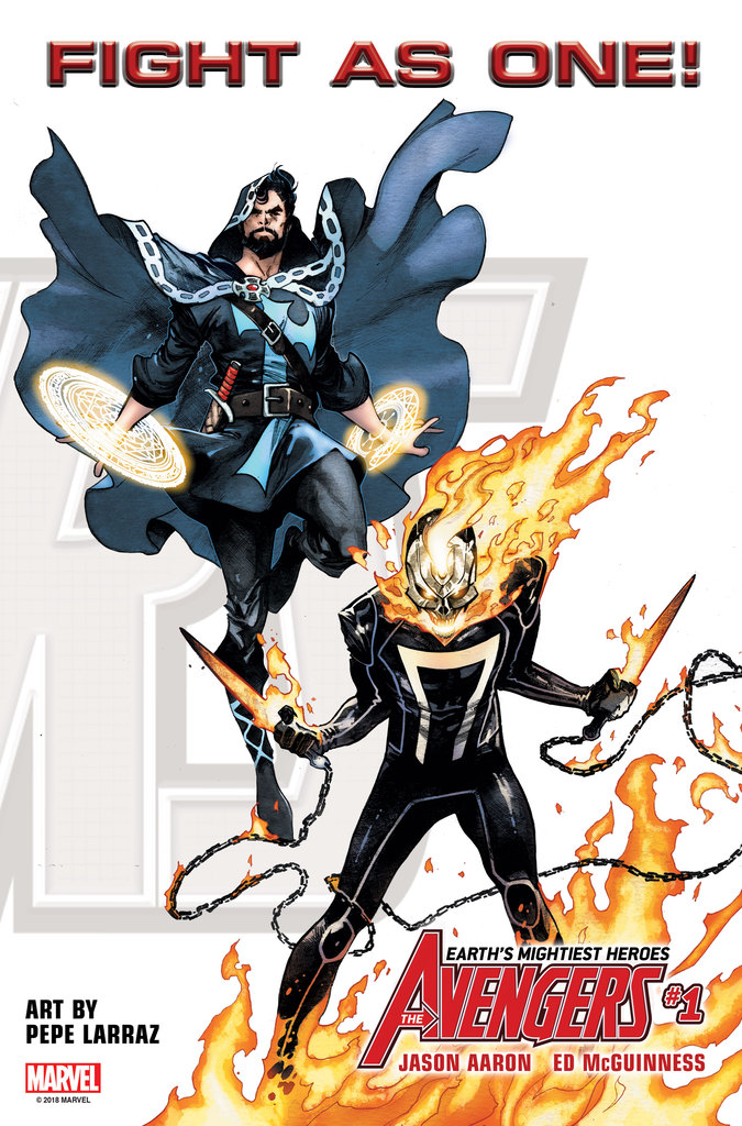 Avengers #1 - Fight As One - Dr. Starnge and Ghost Rider 2018