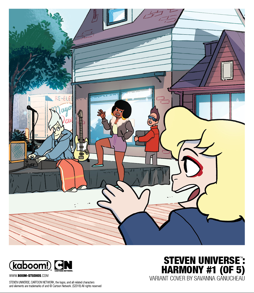 Boomstudios and @cartoonnetwork Are At It Again With STEVEN