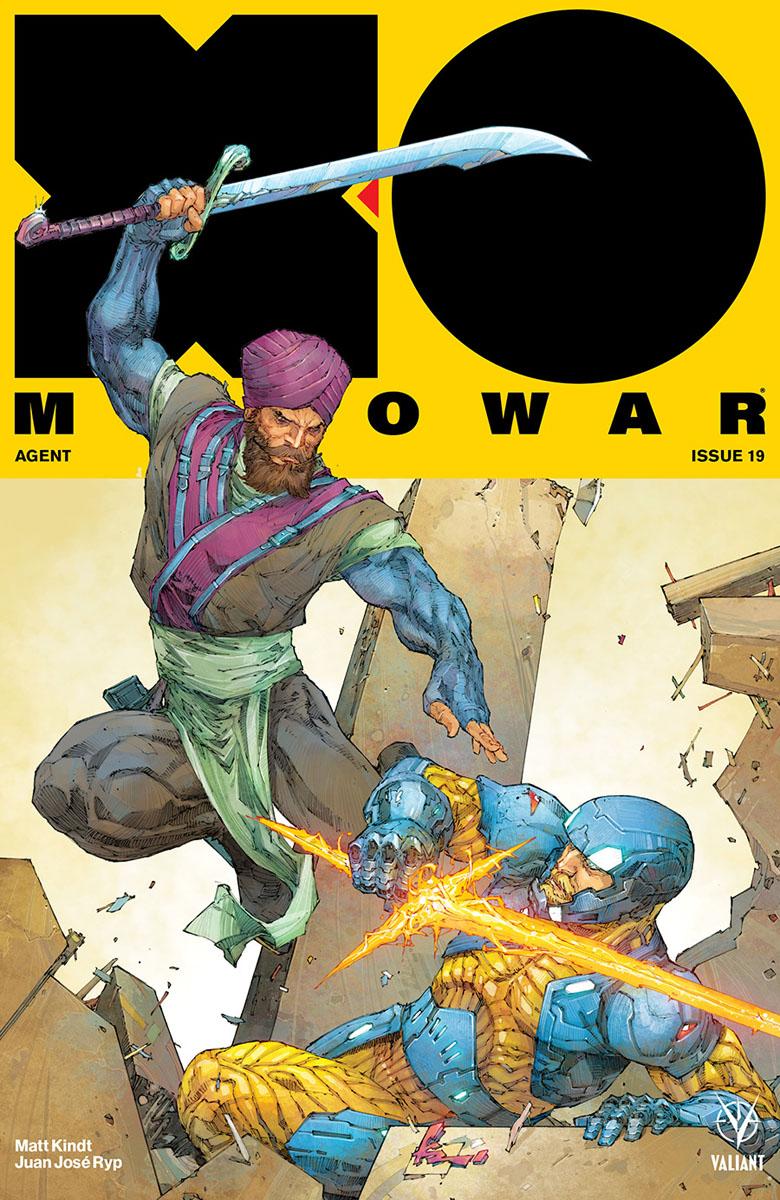 X-O Manowar #19 (2018)