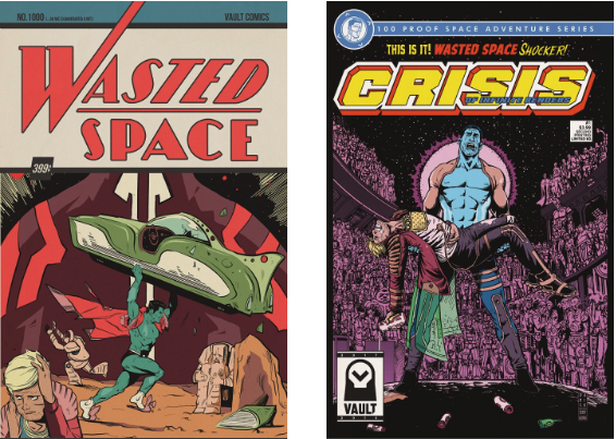 thevaultcomics Announces Wasted Space #1 Second Print Covers