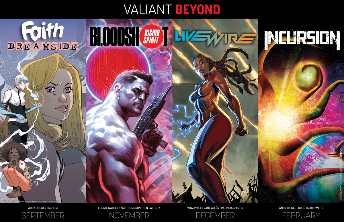 """BEYOND"" Valiant Comics"