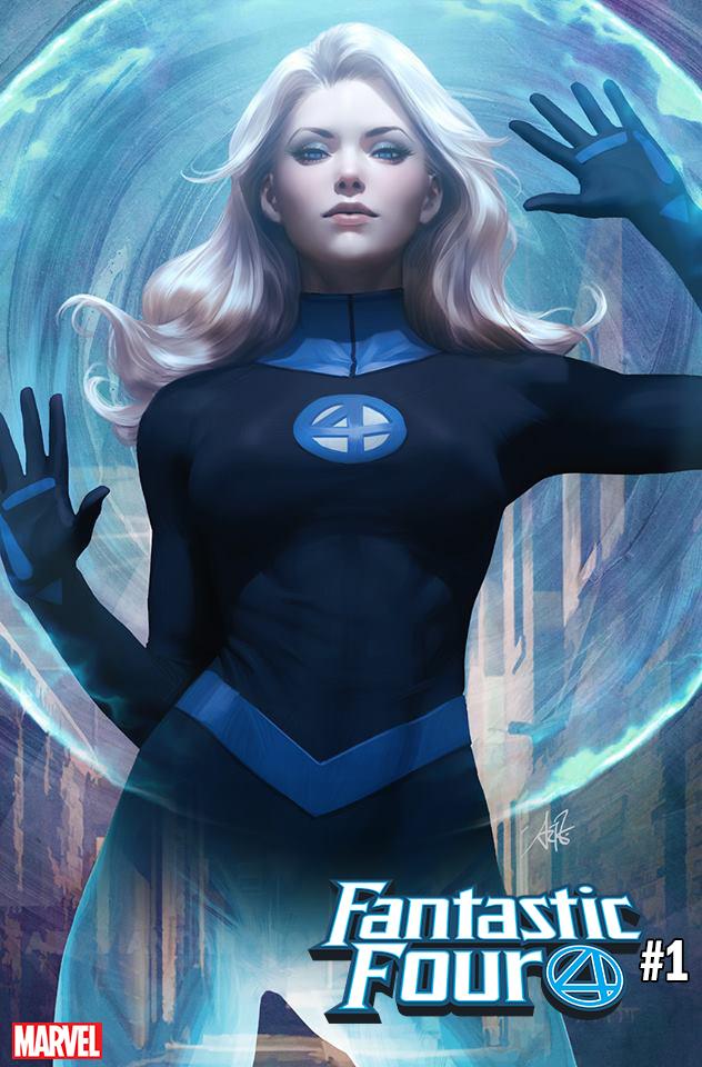 Fantastic Four #1 (2018) Susan Storm
