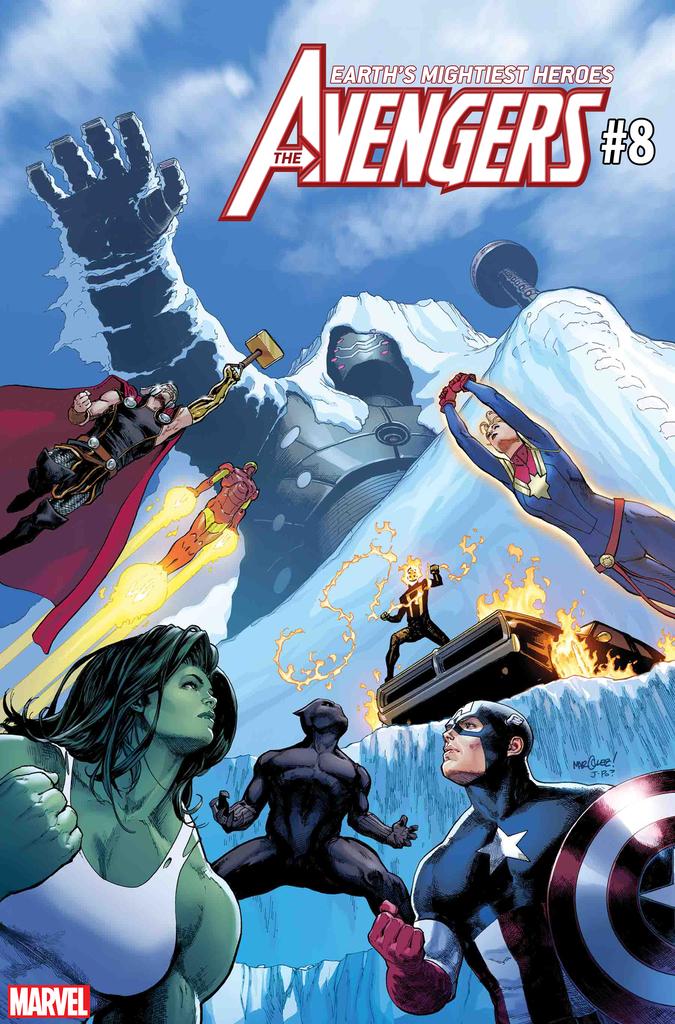 Avengers #8 (2018)