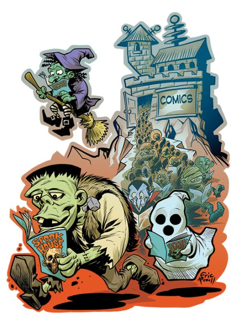Eric Powell Announced as Halloween ComicFest T-shirt Artist