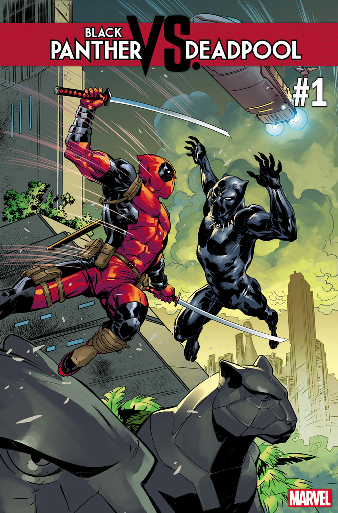 Black Panther VS Deadpool #1 of 5 (2018)