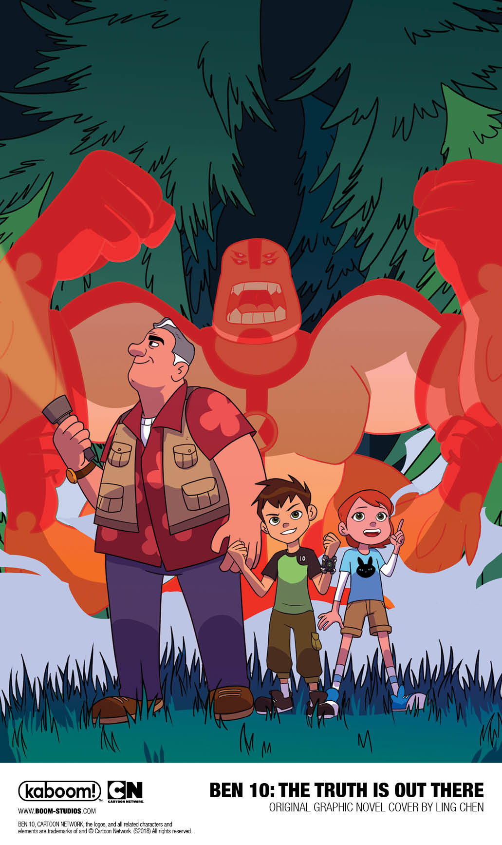 Ben 10: The Truth is out there TPB (2019)
