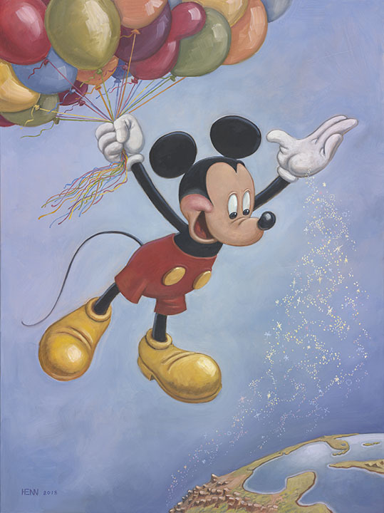 MICKEY MOUSE'S OFFICIAL BIRTHDAY PORTRAIT