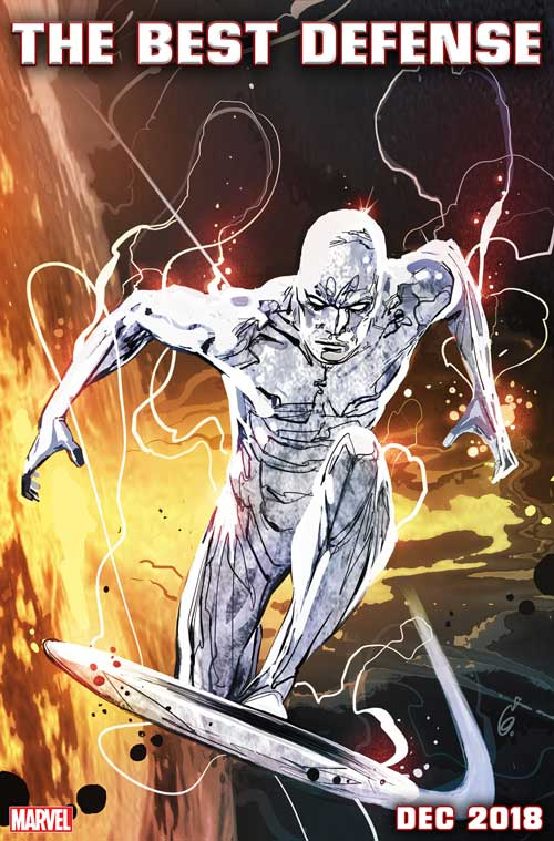 DEFENDERS: THE BEST DEFENSE! Silver Surfer