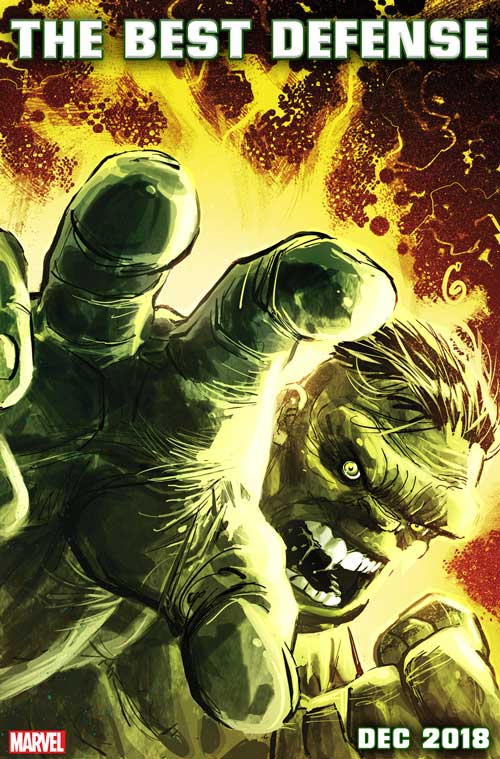 DEFENDERS: THE BEST DEFENSE! Immortal Hulk