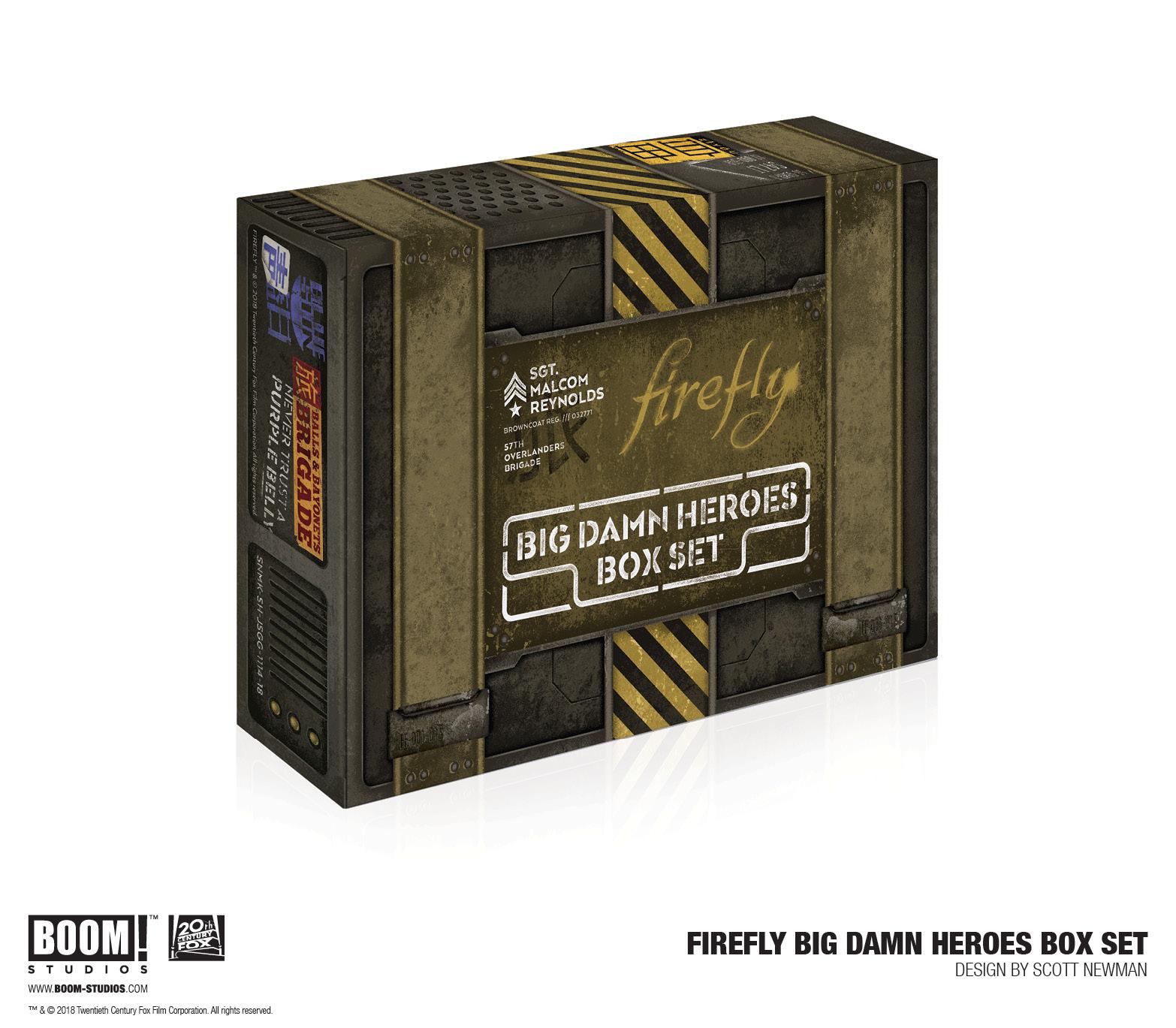 Firefly - Big Damn Heroes Box Set