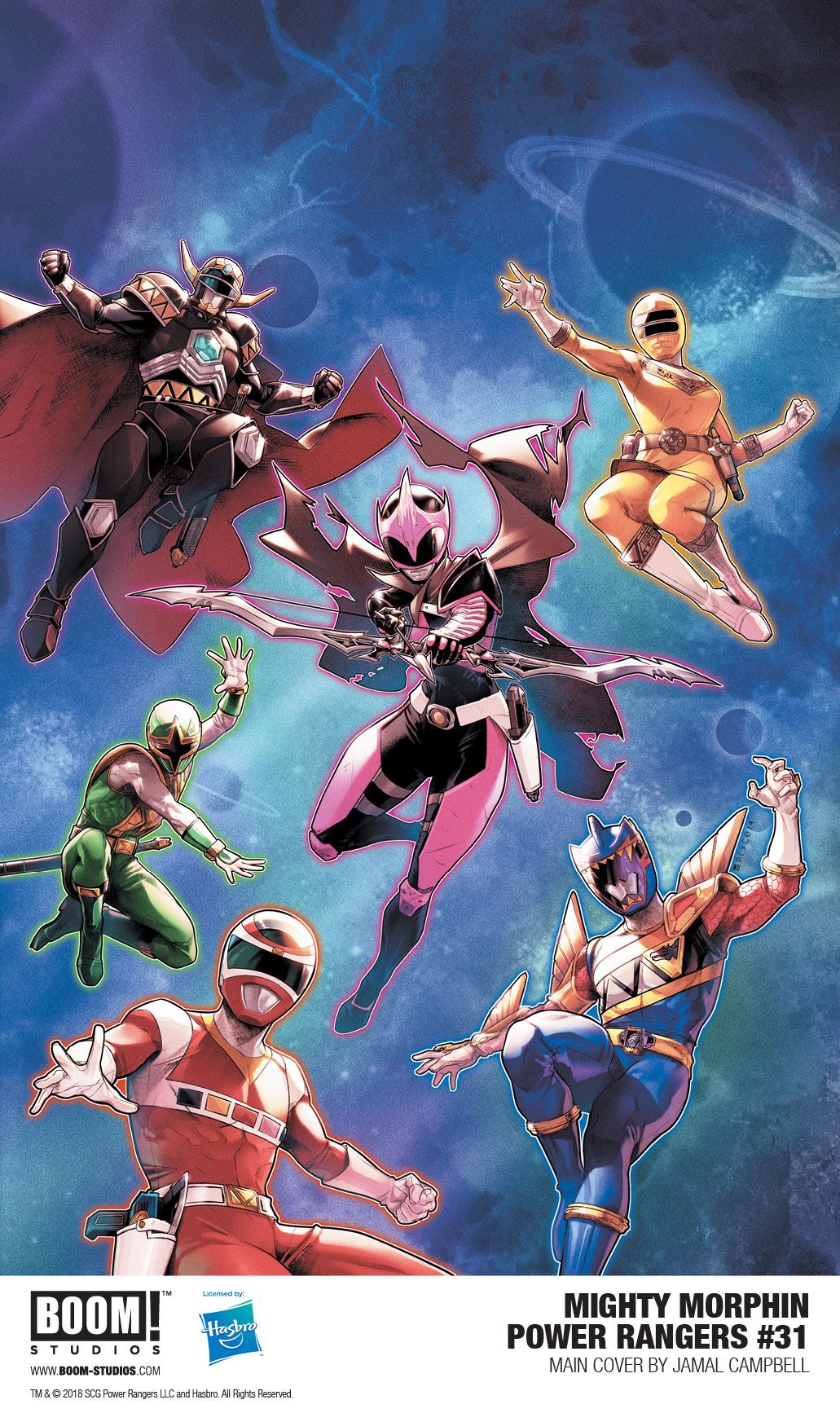 Power Rangers #31 (2018)