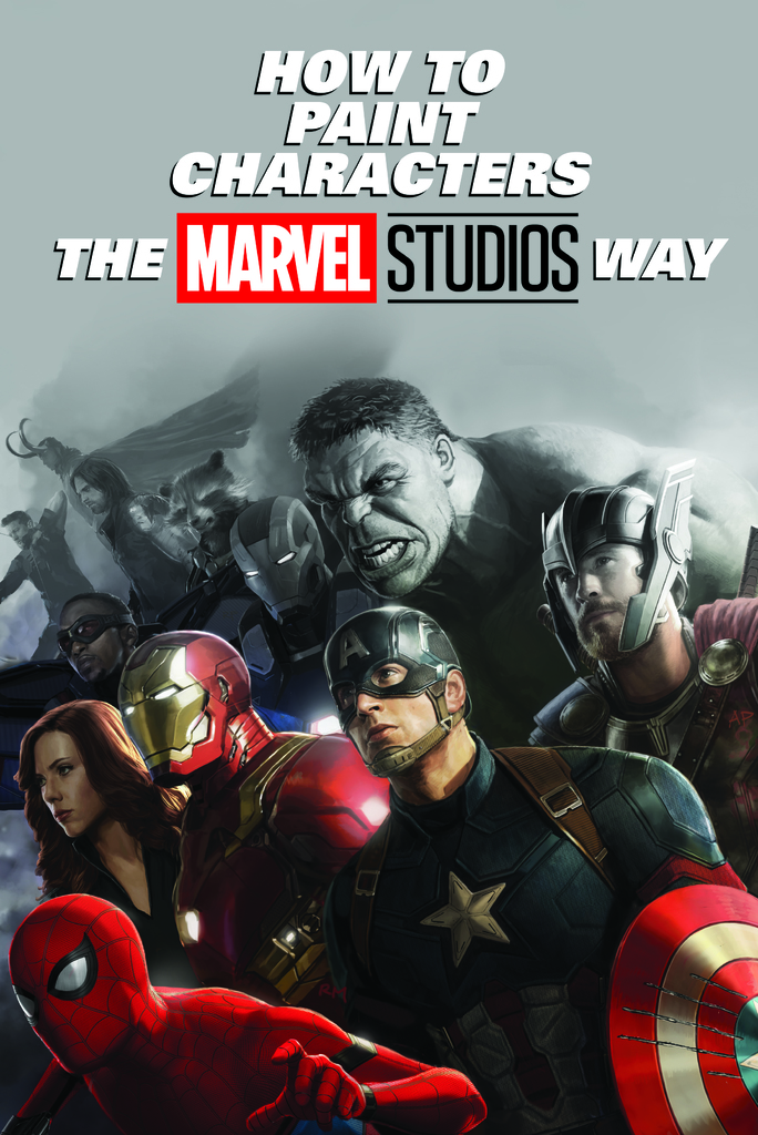 How To Paint The Marvel Way