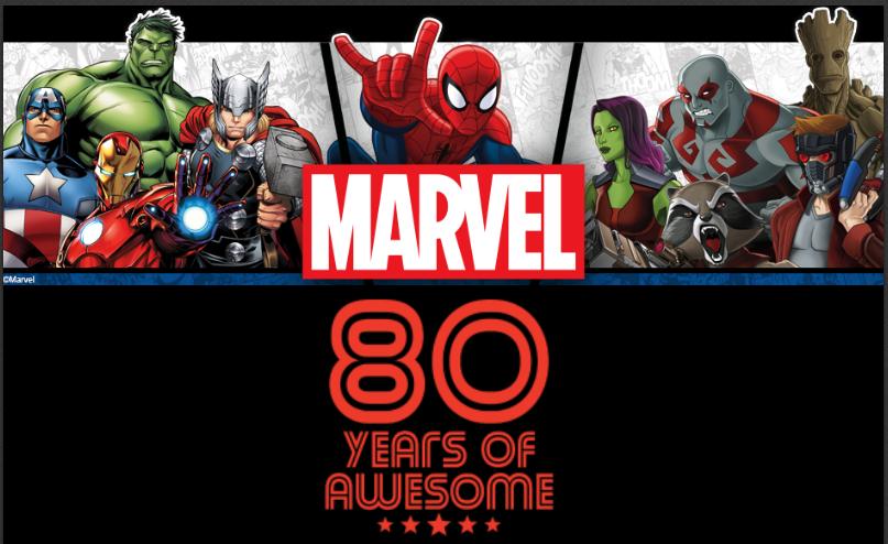 Marvel Comics 80yrs