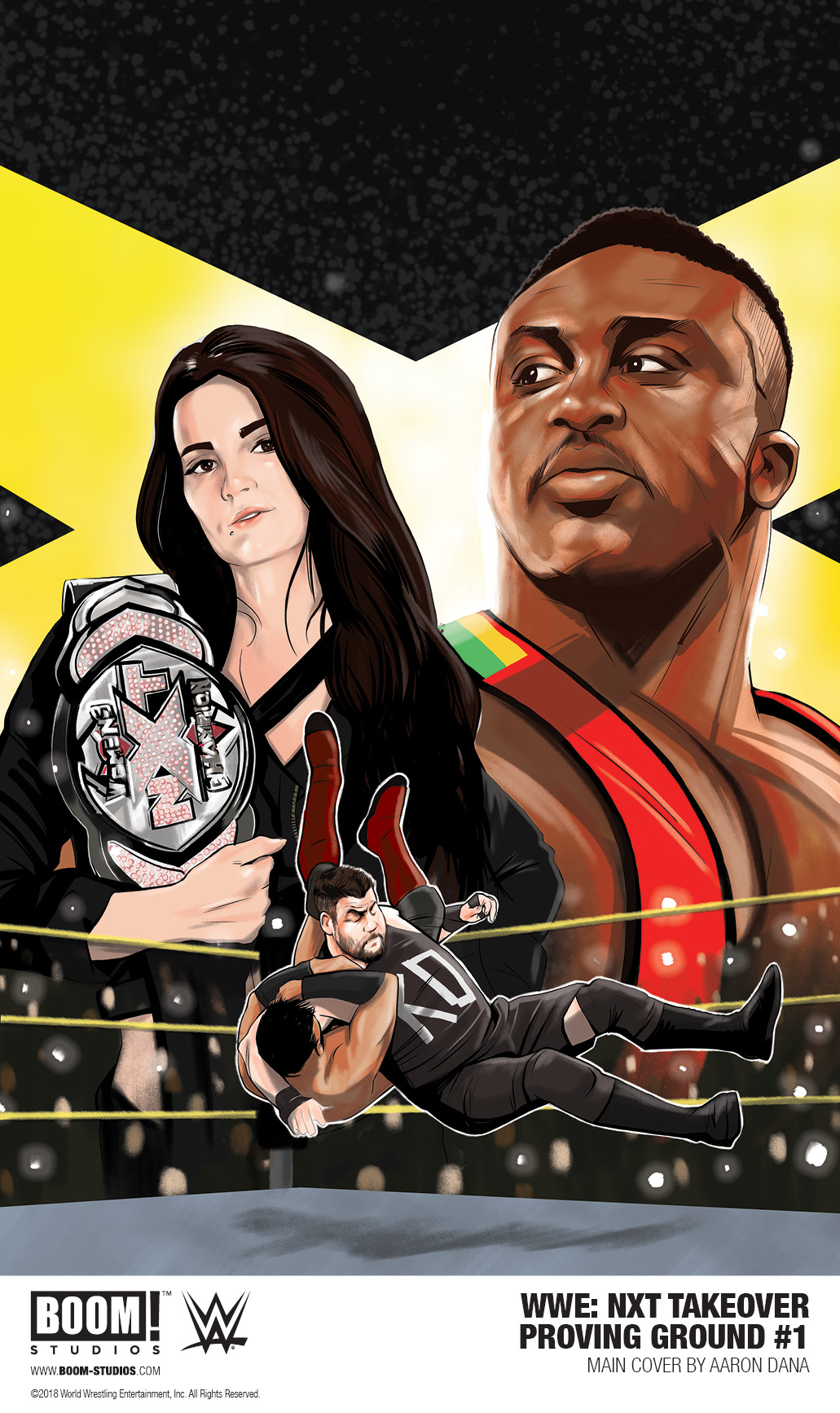 WWE: NXT TAKEOVER – PROVING GROUND #1  (2018)