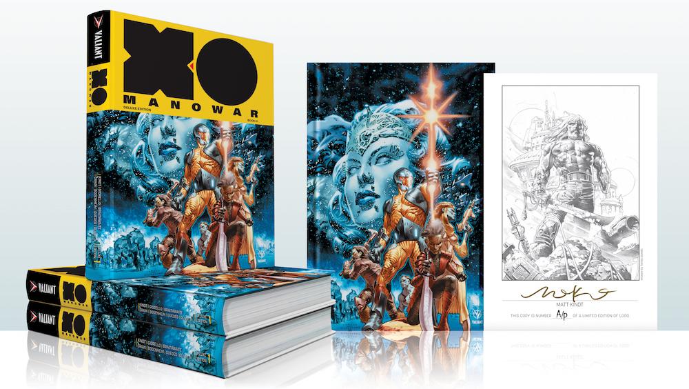 X-O MANOWAR by MATT KINDT DELUXE EDITION BOOK 1 HC!
