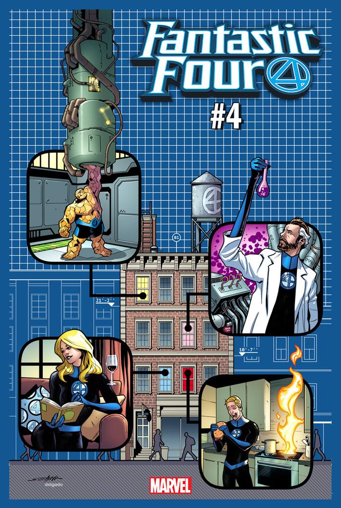 Fantastic Four 004 (2018) Yancy Street