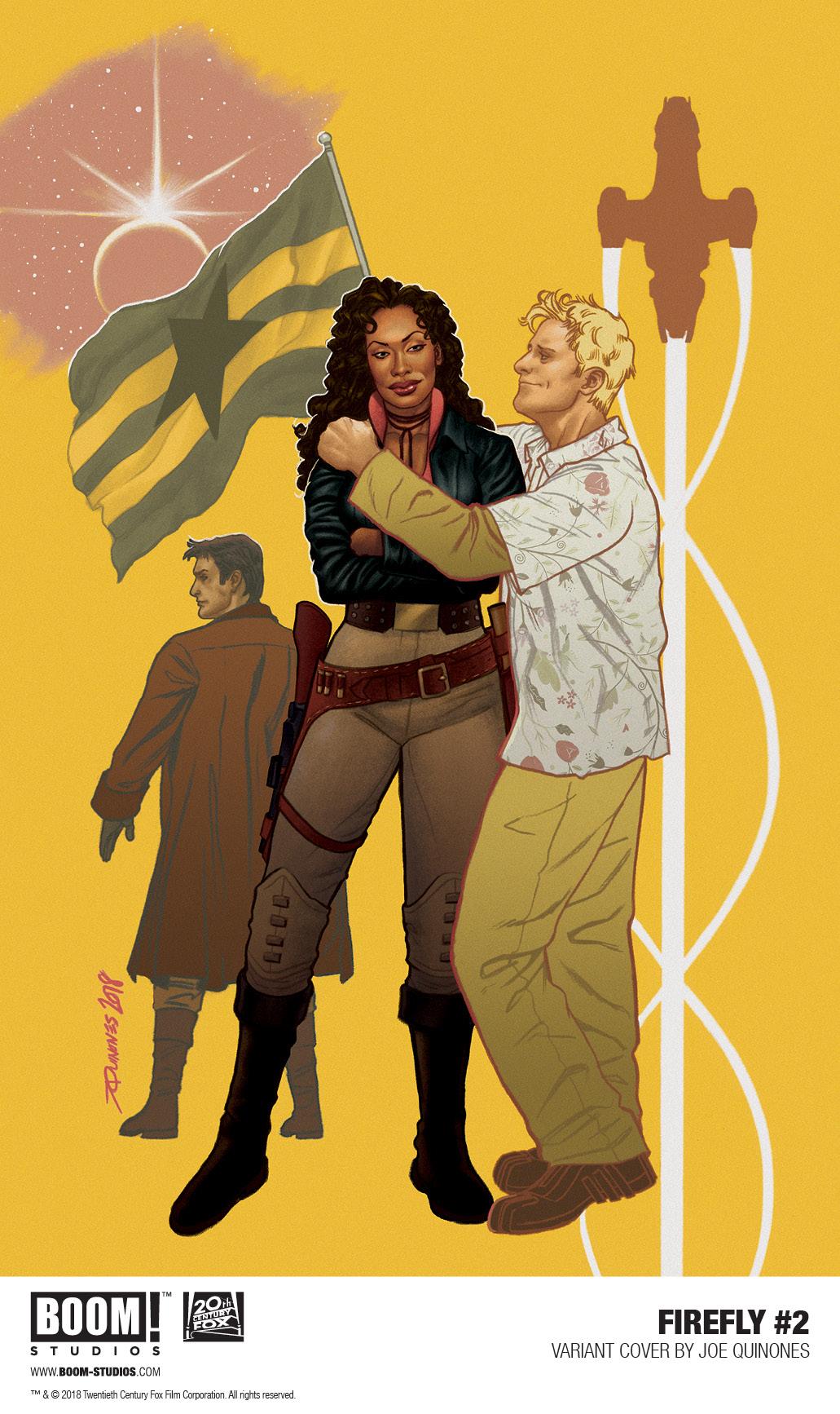 Firefly #2 (2018) Joe Quiñones