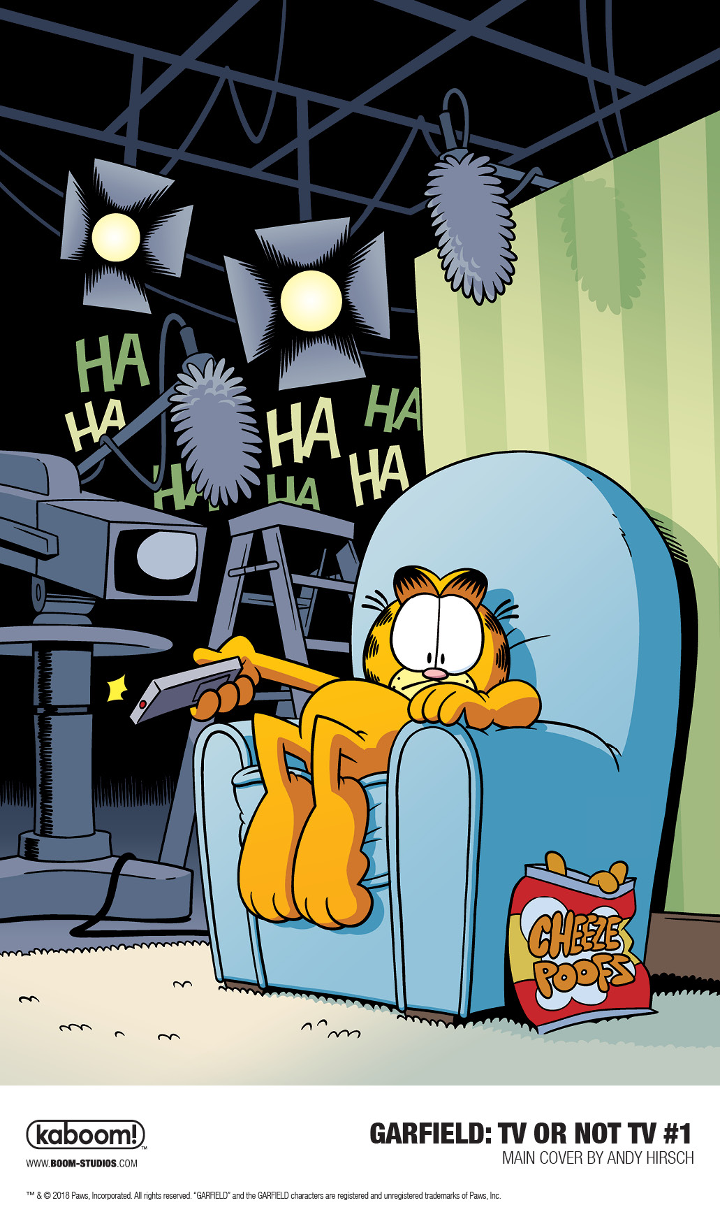 GARFIELD: TV OR NOT TV? #1 (2018)