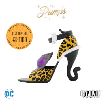 Catwoman Pump from Cryptozoic 2018
