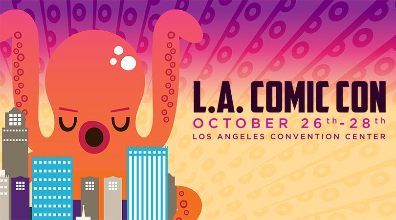 LA Comic Con 2018