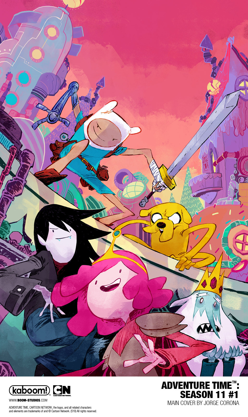 Adventure Time-Season 11 #1 (2018)