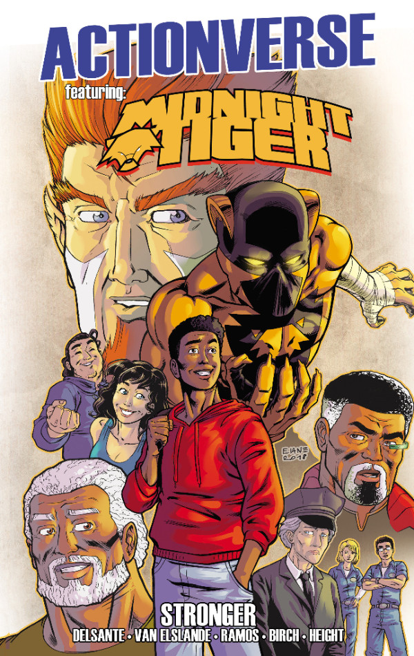 Midnight Tiger TPB