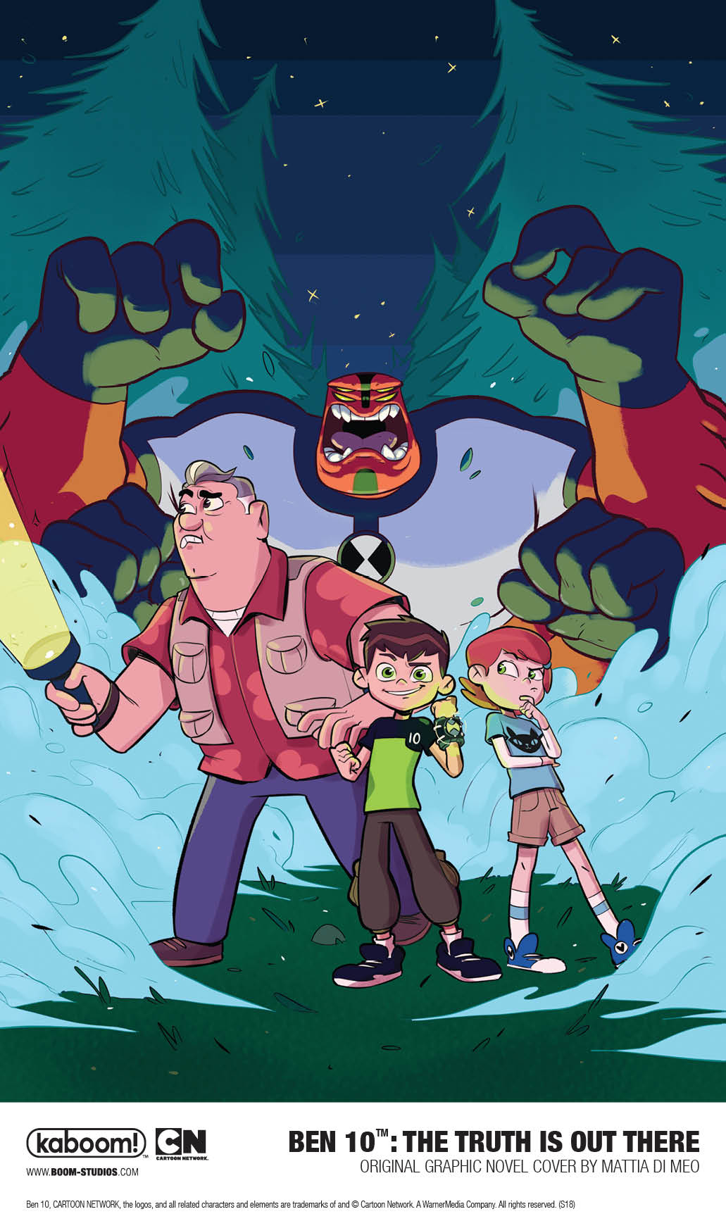 BEN 10™: THE TRUTH IS  OUT THERE Original Graphic Novel