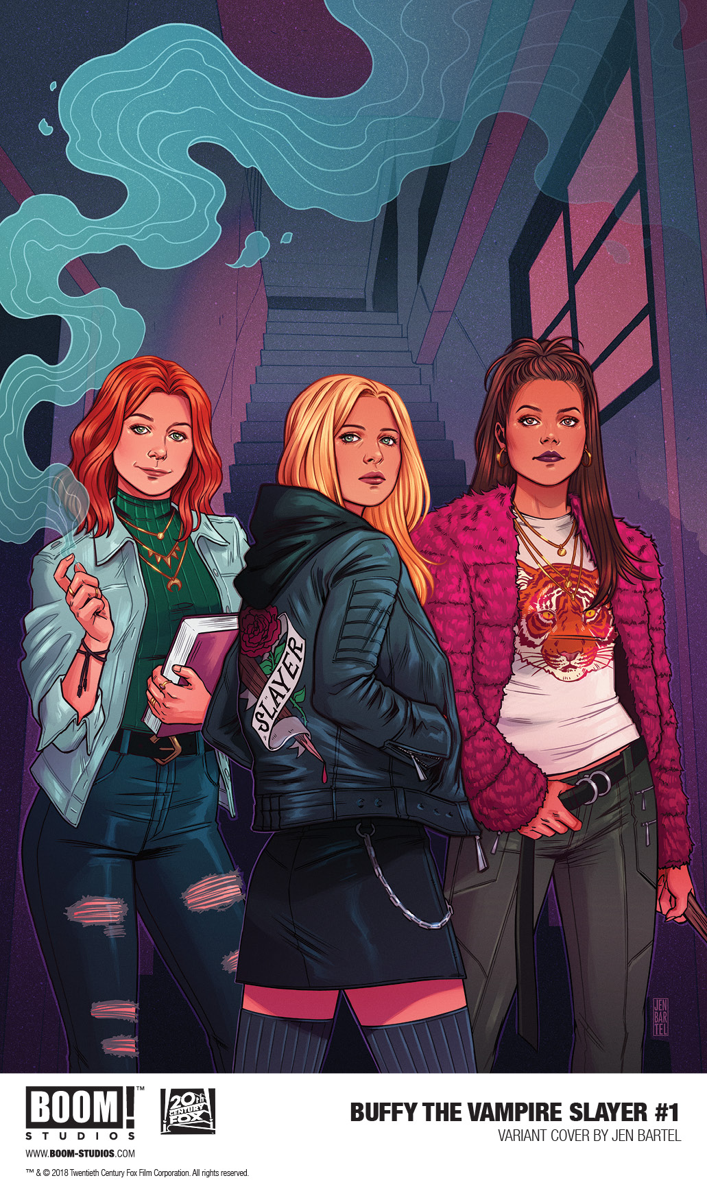 Jen Bartel to BUFFY THE VAMPIRE SLAYER #1