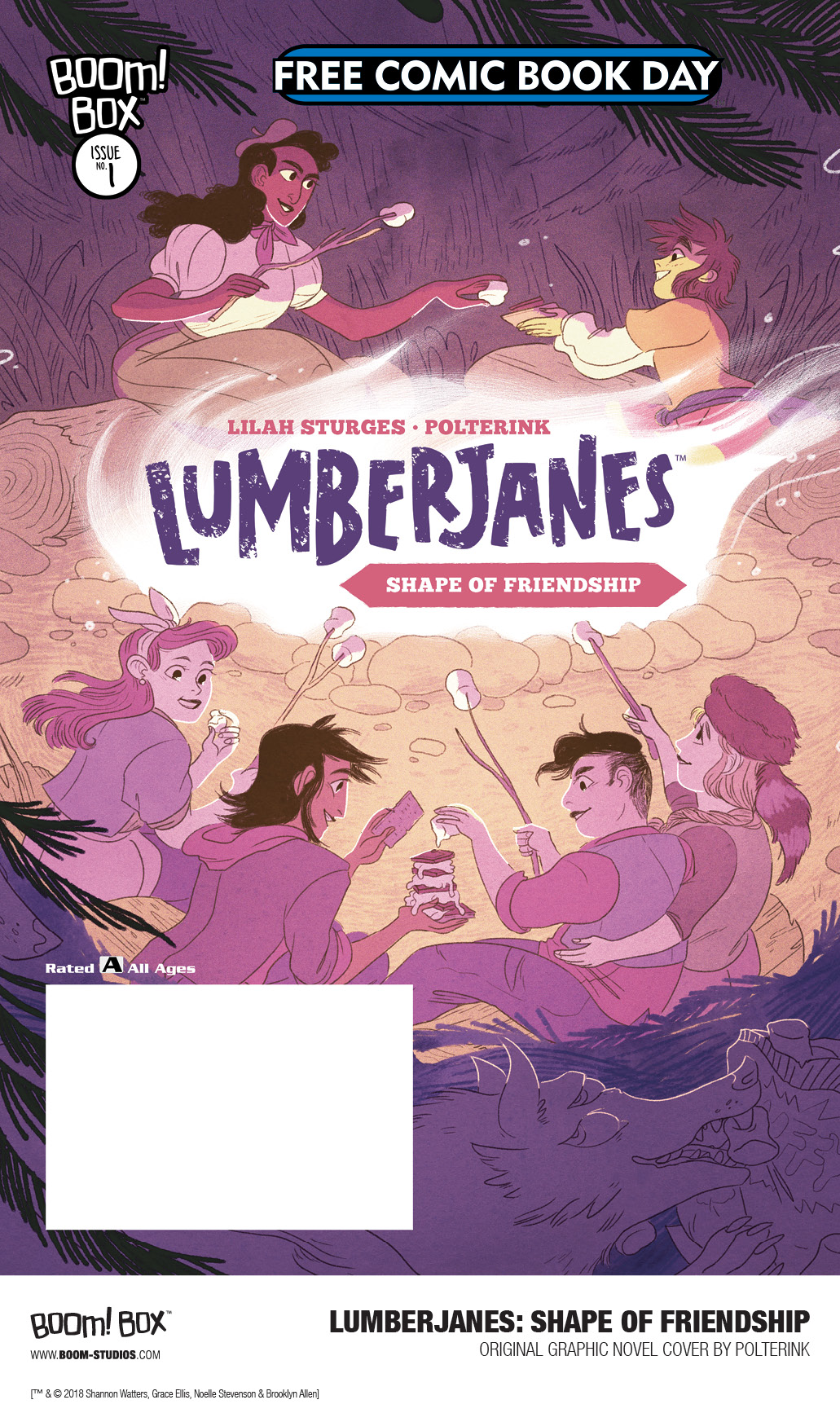 Lumberjanes - Shape of friendship FCBD