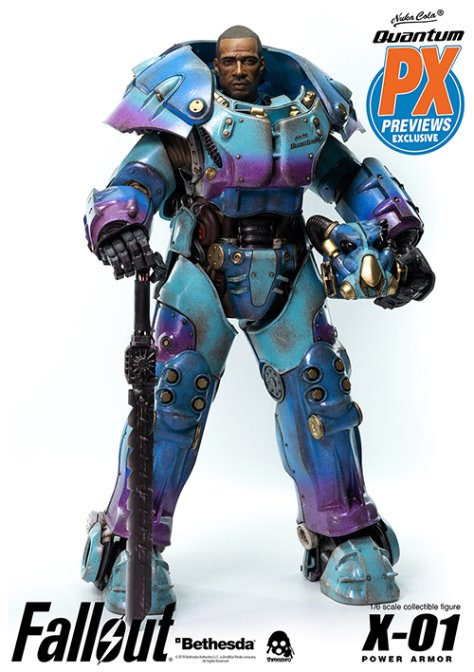 Power Armor Quantum Variant Figure