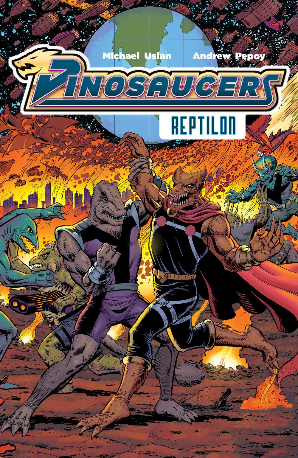 Dinosaucers Vol. 1: Reptilon