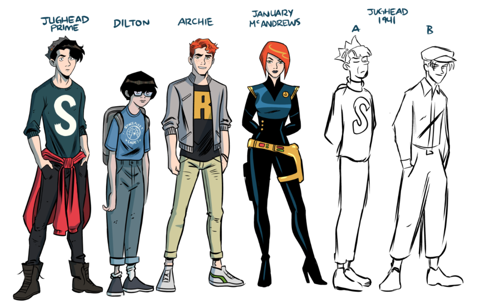 Jughead Time Police Characters