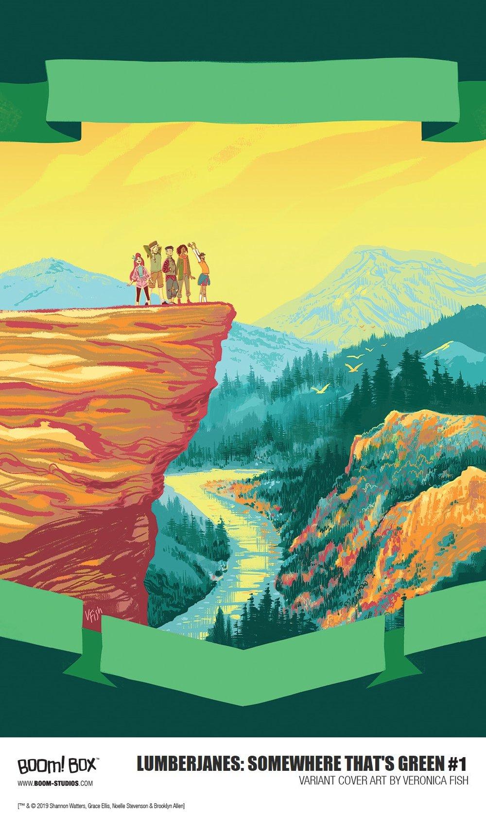 Lumberjanes: Somewhere that's green Alt