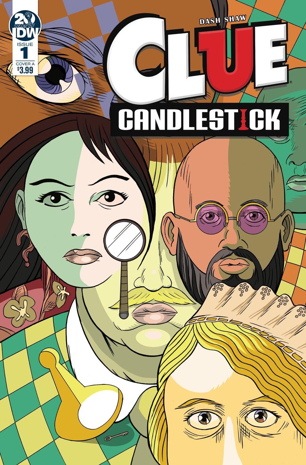 Clue Candlestick #1