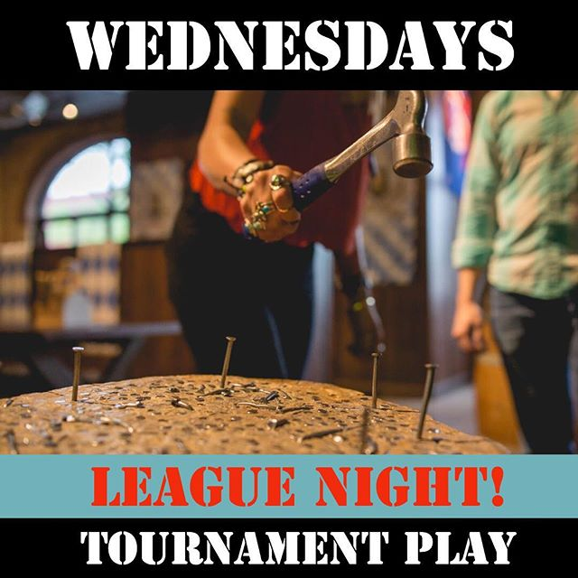 And so it begins! May 1st stump club kicks off our first ever league night! Check out our website for details and get yourself signed up! #stumpclub #logansquare #chicago #wednesday #humpday