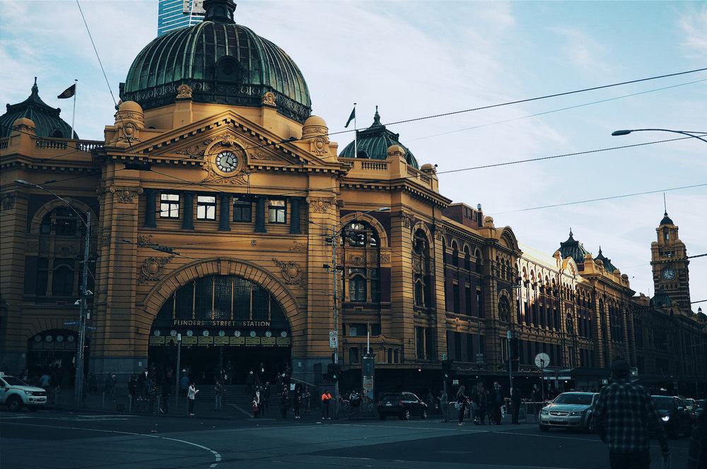 Romer exploring Melbourne